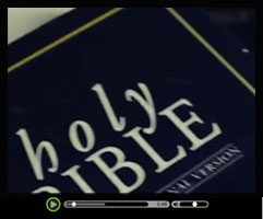King James Bible - Watch this short video clip