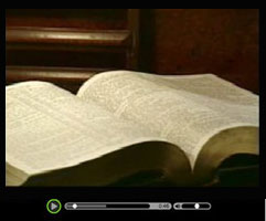 Origin of the Bible Video - Watch this short video clip